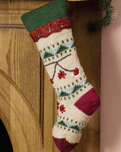 Free Free Christmas Stocking Knitting Patterns Patterns Knitting