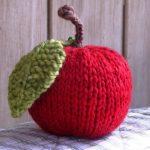 Free Apple Knitting Pattern Tutorial