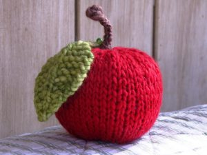 Free Apple Knitting Pattern Tutorial