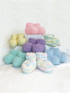 Free booties knitting patterns 0 to 6 months
