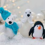Frosty And Friends Free Knitting Pattern