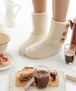 House Boots Free Knitting Pattern