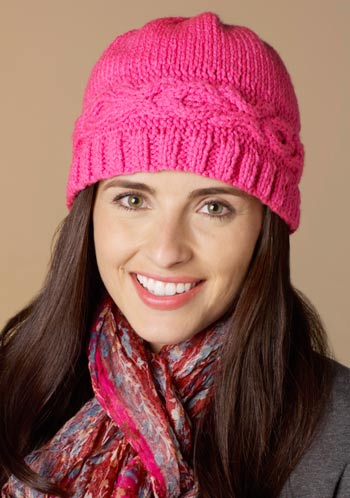 Hugs and Kisses Hat Free Knitting Pattern