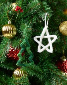 I Cord Christmas Decoration Free Knitting Pattern