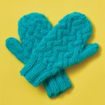 Instant Mash Free Mittens Knitting Pattern