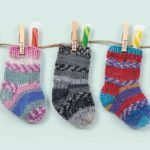 Knitted Mini Stockings Free Pattern