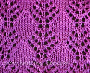 Lace Stitches Dictionary Diamond Trees Lace