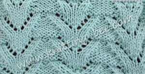 Lace Stitches Dictionary Triangular Columns