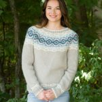 Mystique Yoked Sweater Free Knitting Pattern