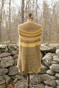 Palace Half Pi Shawl Free Knitting Pattern