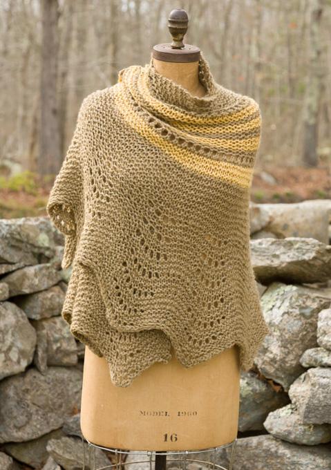 Shawls ⋆ Knitting Bee (115 free knitting patterns)