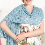 Simple Stylish Wrap Free Knitting Pattern