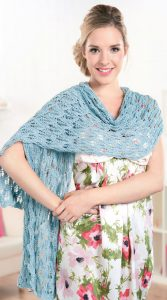 Simple Stylish Wrap Free Knitting Pattern