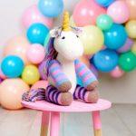 Unicorn Toy Free Knitting Pattern