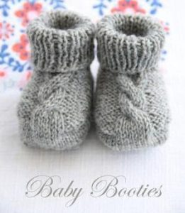 Baby Booties Free Knitting Patterns