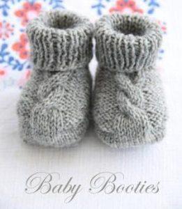 Baby Booties Free Knitting Patterns