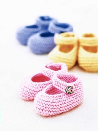 Baby Booties Free Knitting Patterns for 0-6 months