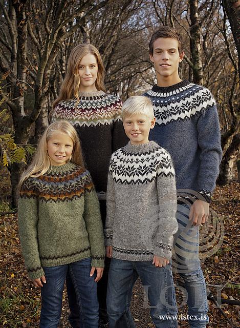 Afmæli 20-year Anniversary Sweater Free Knitting Pattern
