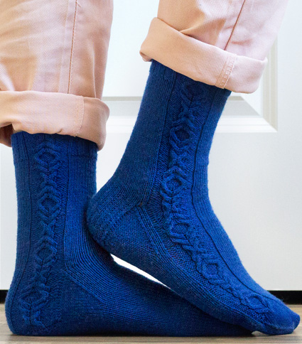 Battle of Wills Free Sock Knitting Pattern