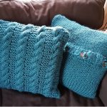 Blackwater Rambles Free Pillow Knitting Pattern
