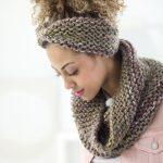 Boro Park Cowl And Headband Free Knitting Pattern