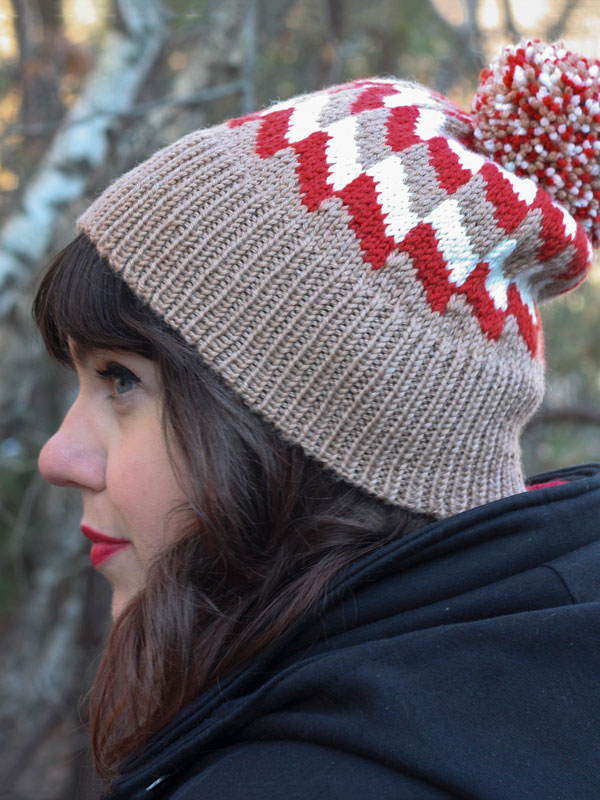 Cassidy Colorwork Hat Free Knitting Pattern