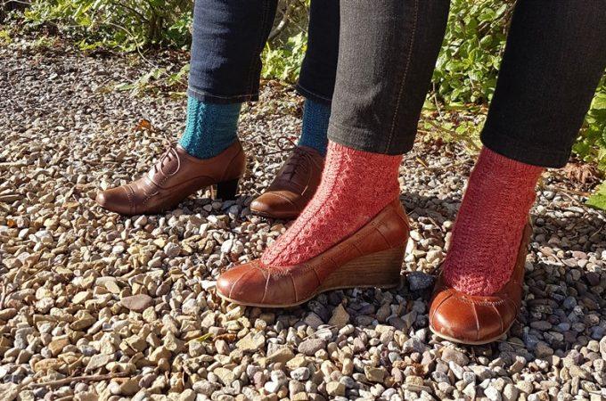 Daly Socks - Toe-Up Free Knitting Pattern