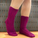 Elegance Socks Free Knitting Pattern