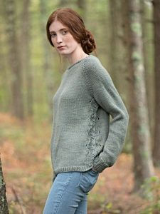 Fountain Raglan Women S Sweater Free Knitting Pattern