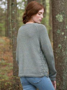 4a8ce23c5996 Fountain Raglan Women s Sweater Free Knitting Pattern ⋆ Knitting Bee