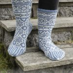 Frost Fighters Fair Isle Socks Free Knitting Pattern