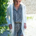 Girl's Jacket in Lace Free Knitting Pattern