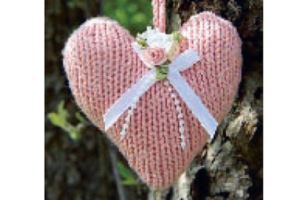 Heart Knitting Pattern Knitting Bee