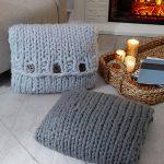 Inviting Knit Pillows Free Pattern