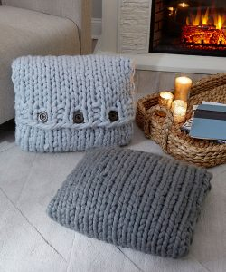Inviting Knit Pillows Free Pattern