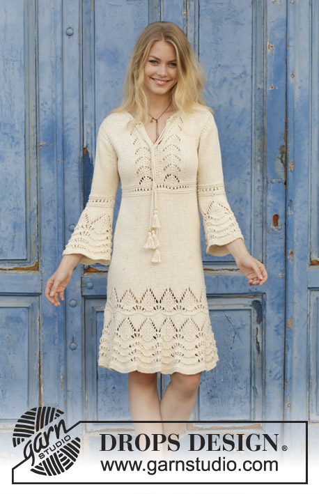 Love Story Free Lace Dress Knitting Pattern