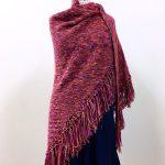 Meadowsweet Easy Garter Stitch Shawl Free Knitting Pattern