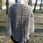 Millefiori Shawl Free Lace Knitting Pattern