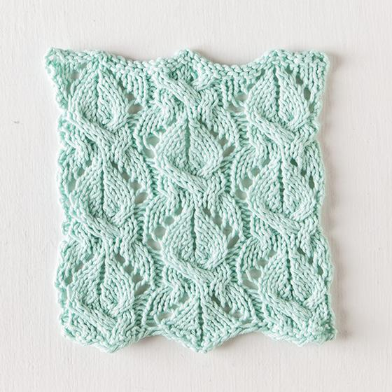 Natte Dishcloth Free Lace Knitting Pattern