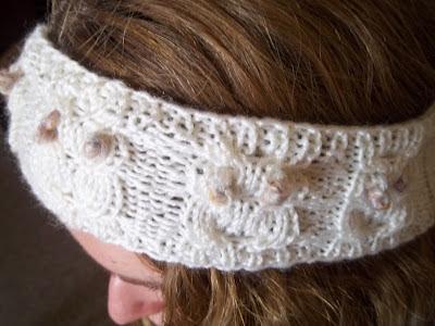 Owl Headband Free Knitting Pattern
