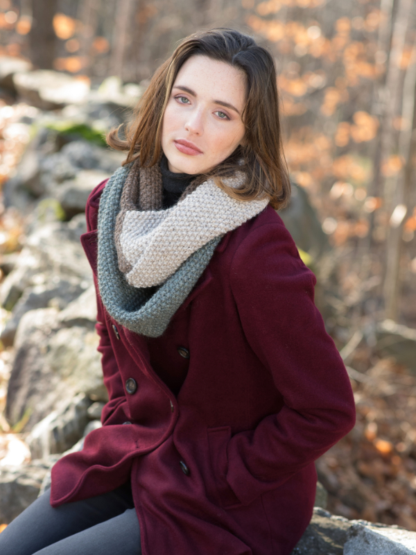 Rosemary Cowl Free Knitting Pattern