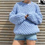 Seriously Chunky Free Sweater Knitting Pattern