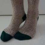 Simple Toe-Up Socks Free Knitting Pattern