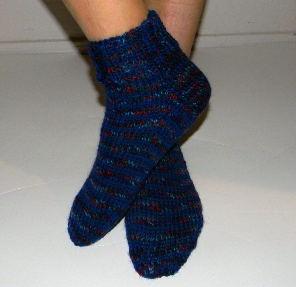 Straight Needle Sock Pattern Free