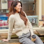 Sutton Cable Textured Jumper Free Knitting Pattern