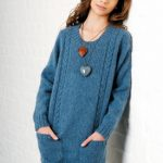 Teagan Girl's Free Sweater Knitting Pattern