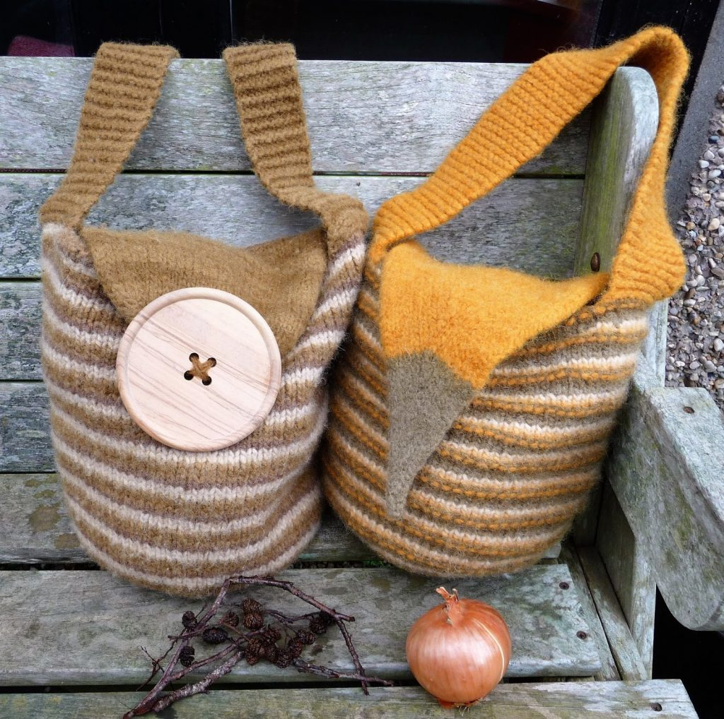 The All About Bag Free Knitting Pattern