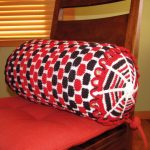 Wheel Barrel Cushion Free Knitting Pattern