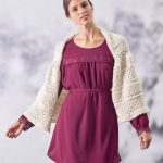 Winter Trellis Shawl Free Knitting Pattern