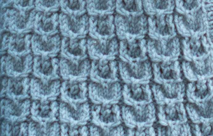 cable and lace stitch
